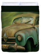 1950's Vintage Borgward Hansa Sports Coupe Car Duvet Cover