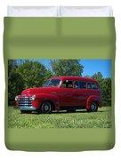 1953 Chevrolet Suburban Duvet Cover