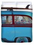 1954 Pontiac Chieftain Station Wagon Duvet Cover