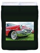 1955 Buick Rodmaster Duvet Cover