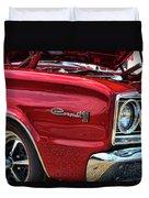 1966 Dodge Coronet 500 426 Hemi Duvet Cover