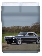 1966 Ford Mustang Coupe I Duvet Cover