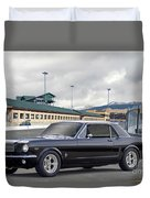 1966 Ford Mustang Coupe II Duvet Cover