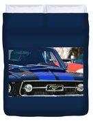 1967 Mustang Fastback Duvet Cover