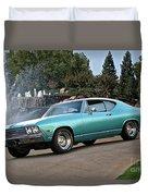 1968 Chevelle Malibu II Duvet Cover