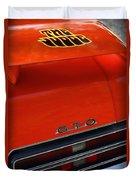 1969 Pontiac Gto The Judge Duvet Cover
