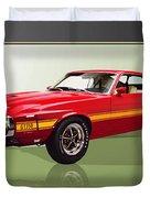 1969 Shelby V8 Gt350  Duvet Cover