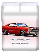 1970 Chevelle Ss454 Duvet Cover