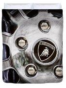 1997 Lamborghini Diablo Roadster  Wheel Emblem -1303ac Duvet Cover