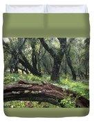 1b6338 Oak Forest On Sonoma Mountain Ca Duvet Cover