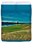 #2 At Chambers Bay Golf Course Duvet Cover