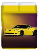 2008 Corvette Z06 Coupe Duvet Cover