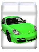 2008 Porsche Cayman S Sport Duvet Cover