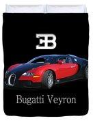 2010 Bugatti Veyron Duvet Cover