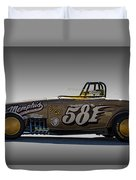 581 Bonneville Race Car Duvet Cover