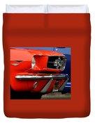 66 Mustang Fastback Duvet Cover