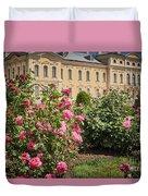 A Beautiful Rose Bush Castle Park 1 Duvet Cover