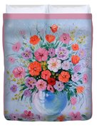 A Bouquet Of Flowers Duvet Cover