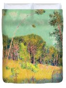 A Clearing In The Forest Duvet Cover