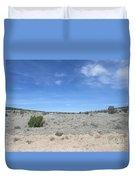 A Concho Landscape Duvet Cover