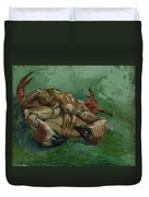 A Crab On Its Back Paris, August-september 1887 Vincent Van Gogh 1853 - 1890 Duvet Cover