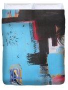 A False Painting Duvet Cover