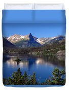 A Glacier Lake Duvet Cover