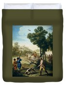 A Hunting Party Duvet Cover
