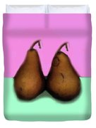 A Pair Of Pears Duvet Cover