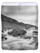A River Runs Through It Duvet Cover