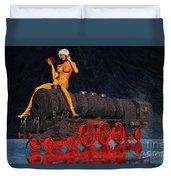 A Surrealist Lady Chatterley Duvet Cover