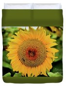 A Texas Flower Duvet Cover