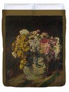 A Vase Of Wild Flowers Duvet Cover