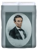 Abraham Lincoln, 16th American President Duvet Cover