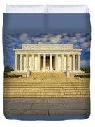 Abraham Lincoln Memorial  Duvet Cover