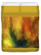 Abstract Background Structure With Oil Painting Texture In Tones Of Nature. Duvet Cover