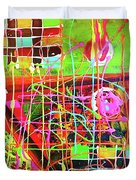 Abstract Colorful Duvet Cover