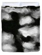 Abstract Monochome 159 Duvet Cover
