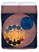 Abstract Painting - French Beige Duvet Cover