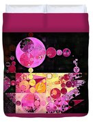 Abstract Painting - Mauvelous Duvet Cover