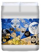 Abstract Painting - Nero Duvet Cover