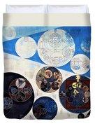 Abstract Painting - San Marino Duvet Cover