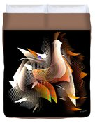 Abstract Peacock Duvet Cover