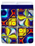 Abstractica Moderna Catus 1 No. 1 H B Duvet Cover