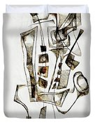 Abstraction 2844 Duvet Cover