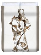 Abstraction 2924 Duvet Cover