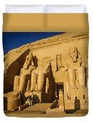 Abu Simbel Duvet Cover