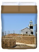 Acre, The Lighthouse  Duvet Cover