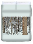 Acrobat Of The Forest Duvet Cover