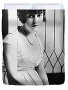 Actress Mabel Normand Duvet Cover